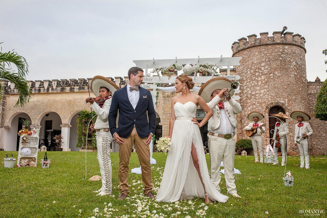 Музыкальная свадьба в стиле мариачи
