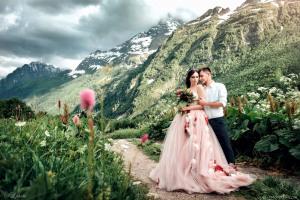 Свадебная фотосессия в Швейцарии