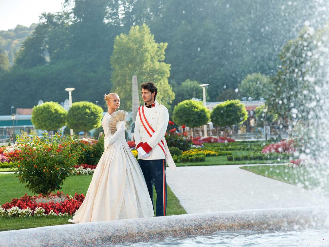 Свадьба в парке Словении