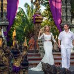 Свадьба в Таиланде в храме