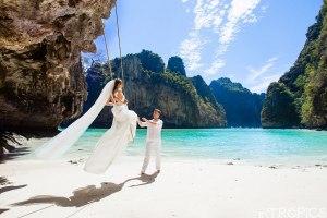 Свадьба на островах Пхи-Пхи