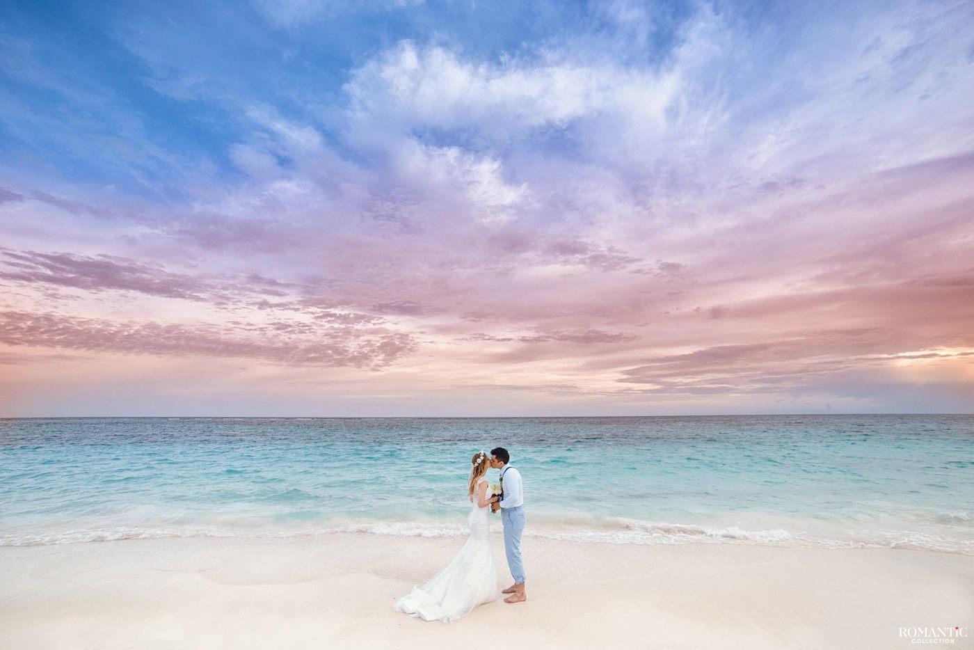 Свадебная фотосессия на пляжах Туниса