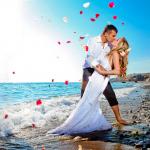 Свадьба в Турции на пляже