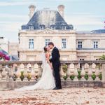 Свадьба в пригородном замке Парижа