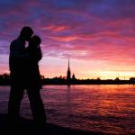 Влюблённые в Санкт-Петербурге
