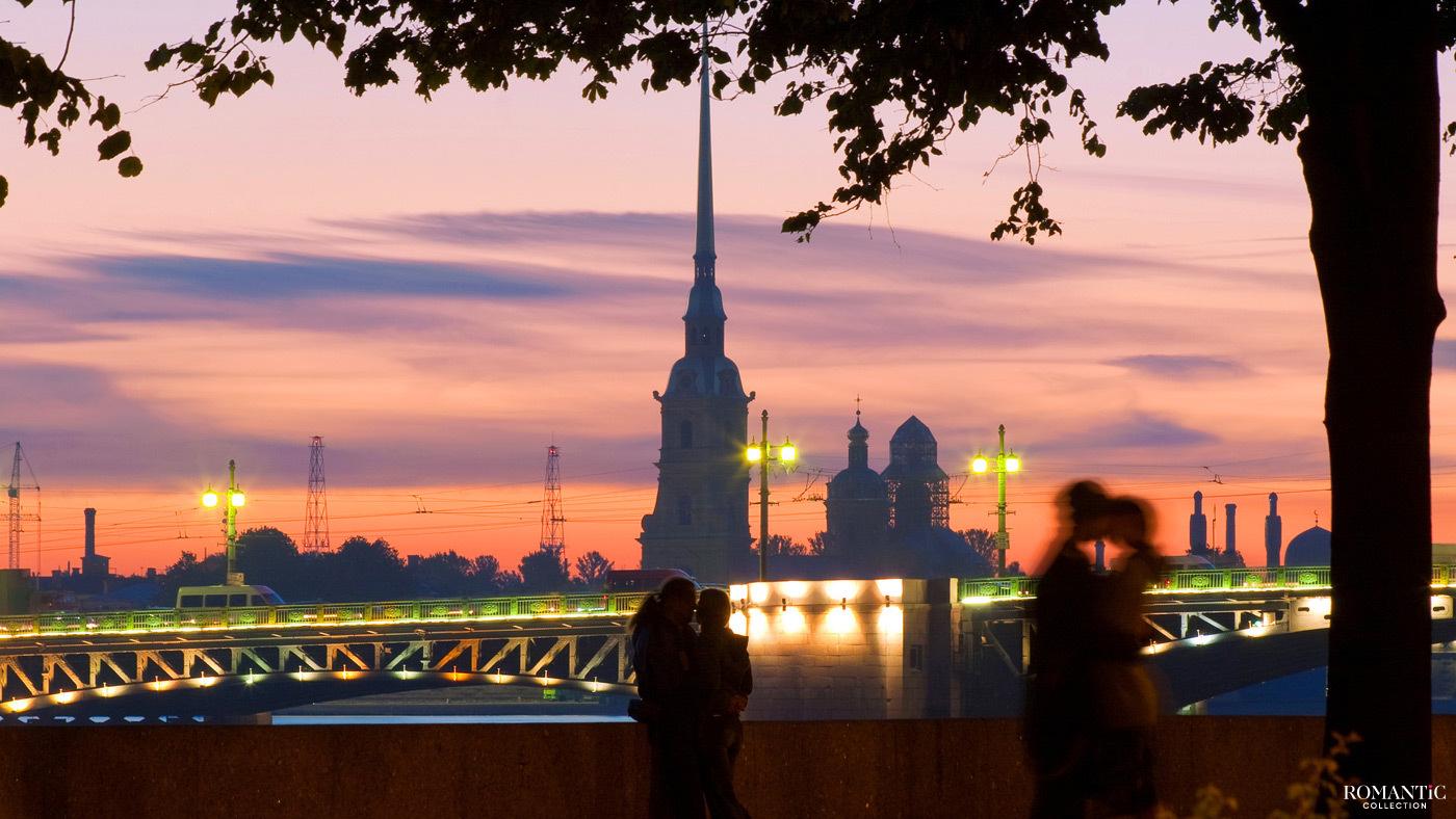 Романтика Питерских вечеров. Петропавловская крепость