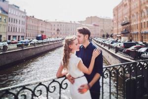 Поцелуй в Санкт-Петербурге