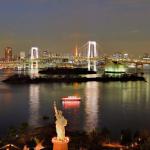 Вид на Токийский залив