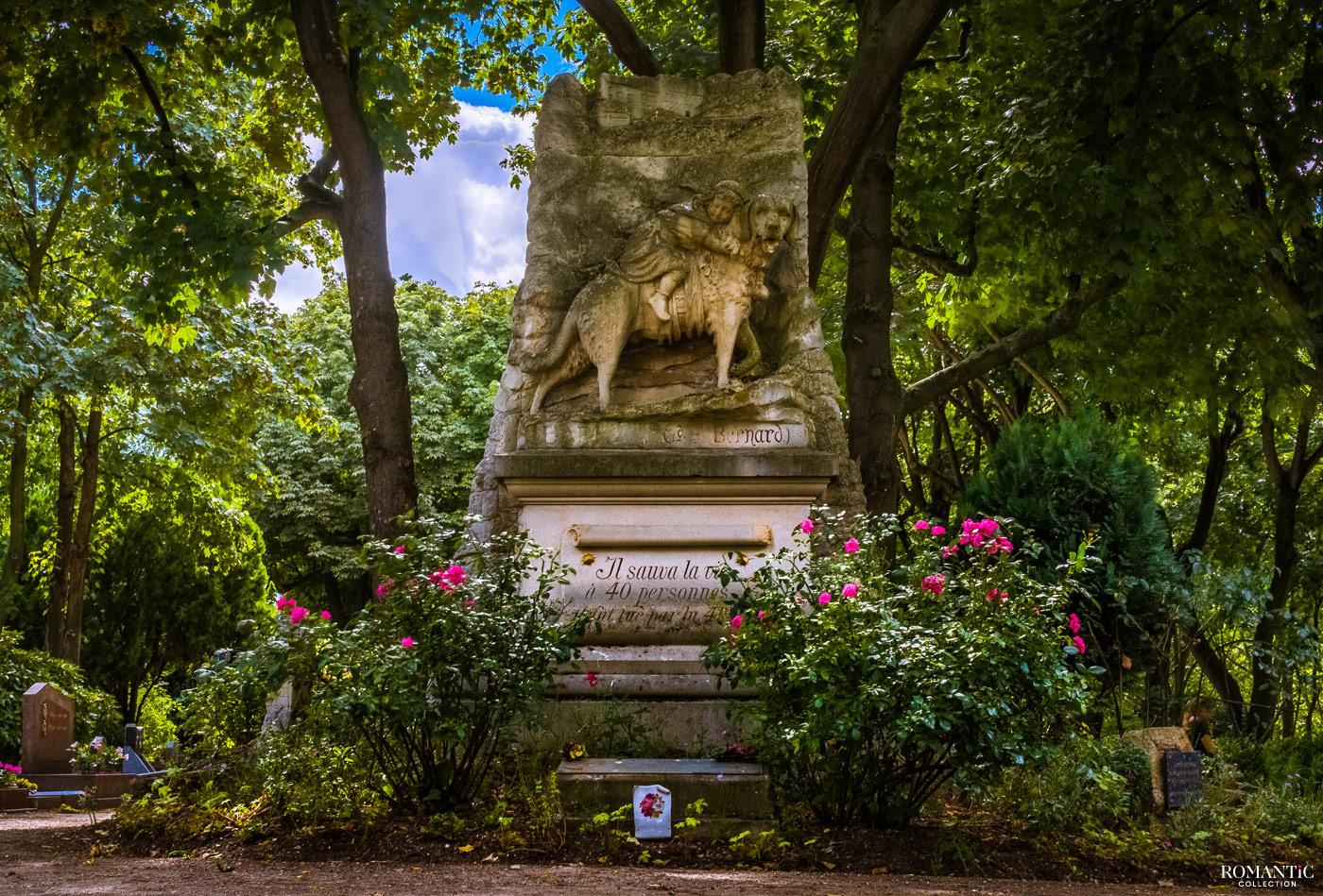 Памятник сенбернару Барри