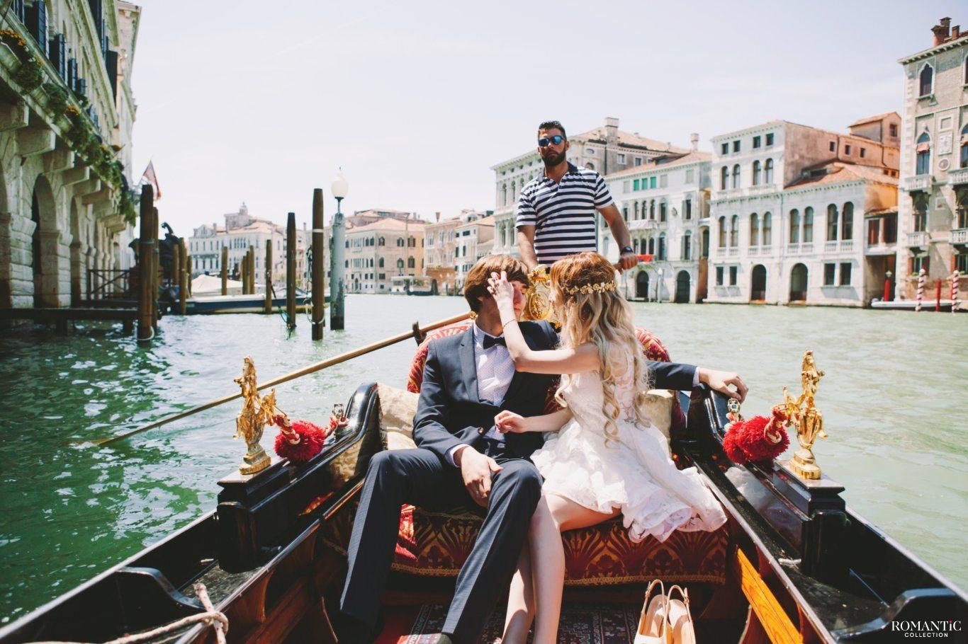 Влюблённые в Венеции