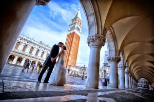 Свадьба на площади Сан-Марко