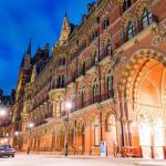 Вокзал Сент-Панкрас в Лондоне
