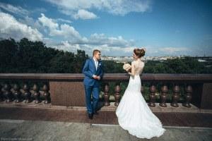 Свадебная фотосессия на Воробьевых горах
