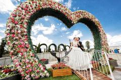 Лужков мост для счастья влюблённых
