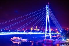 Мост влюбленных в Тюмени