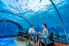 Подводный отель на Мальдивах