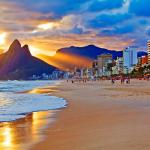 Песчаный пляж Рио де Жанейро