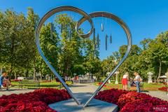Сердце любви в саду Эрмитаж